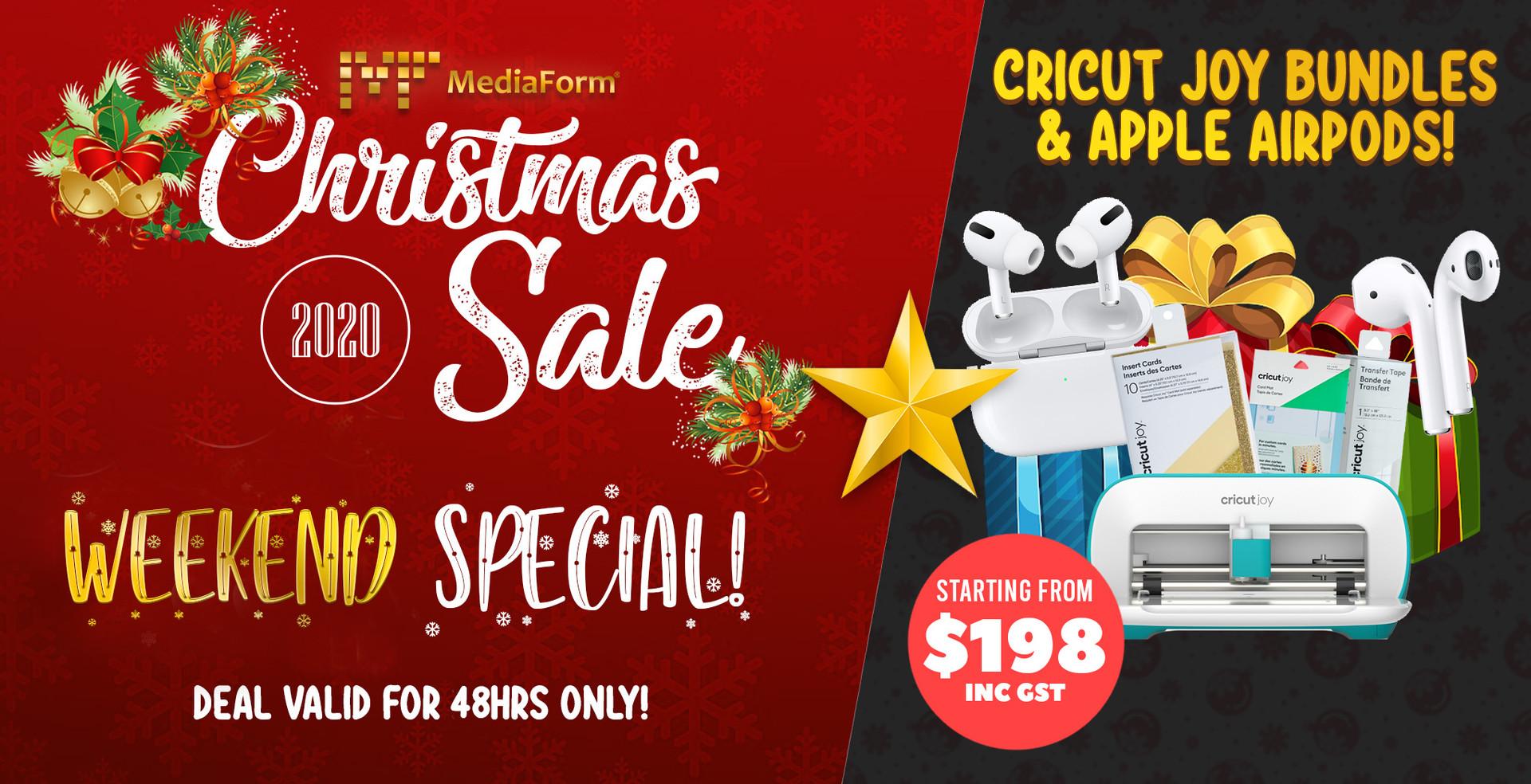 Weekend Deals (Days 12 & 13): Cricut Joy & Apple AirPods