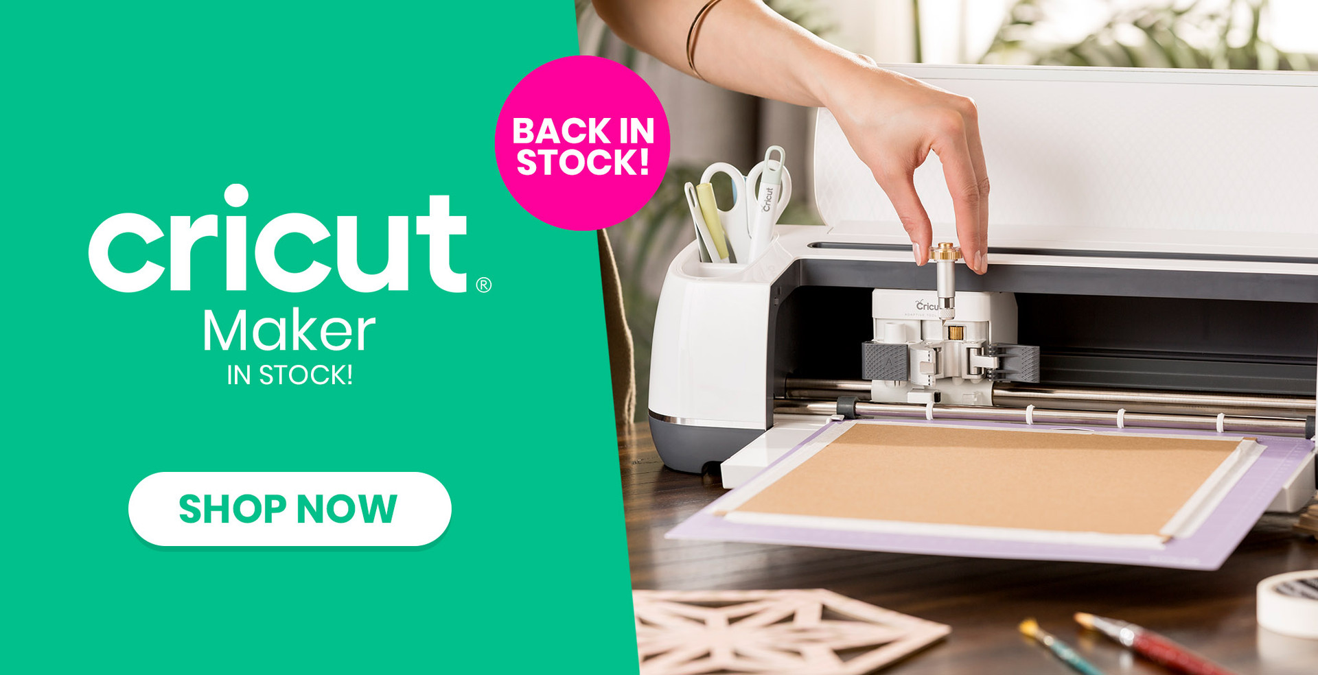 Cricut Maker is back in stock: Shop Now