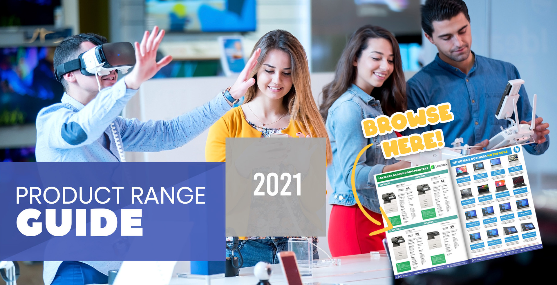 Our 2021 Product Range Catalogue is now online
