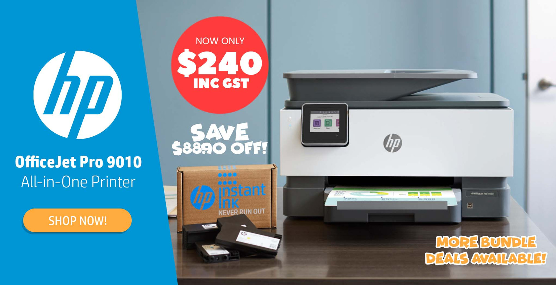 HP OfficeJet Pro 9010: Bundle Deals Available!