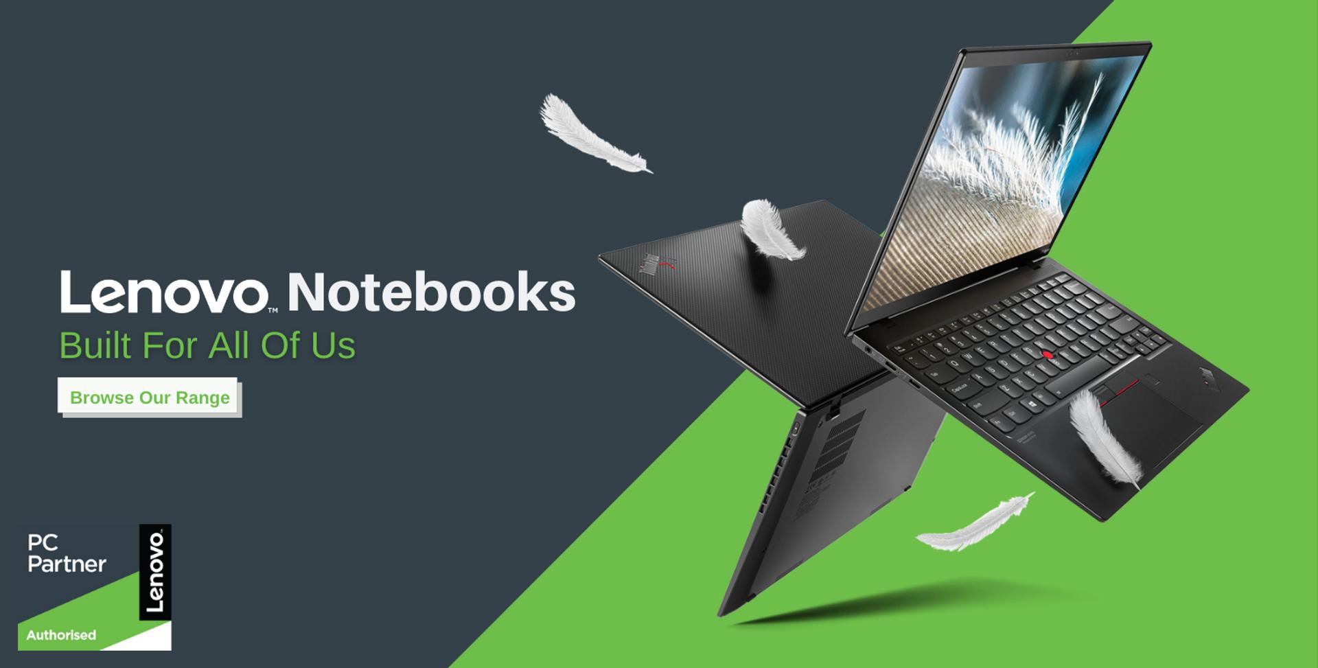 Lenovo Notebooks: Built for All of Us
