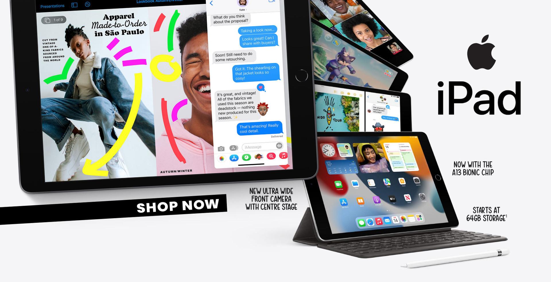 NEW 9th Gen iPads: Shop Now!