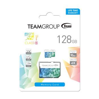 TEAM Colour Card II Micro SDHC UHS-1 U3 128G 90/45 R/W