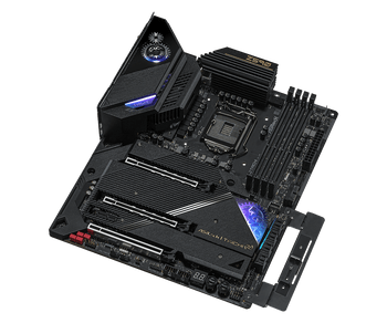 Supports 10th Gen Intel Core Processors and 11th Gen Intel Core Processors,4 x DDR4 DIMM Slots,6 x SATA3 6.0 Gb/s