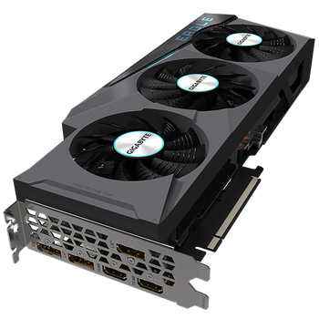 NVIDIA , GeForce RT 3080 Ti, 12GB GDDR6X 384-bit memory interface,WINDFORCE 3X Cooling System with alternate spinning fans