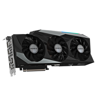 NVIDIA GeForce RTX 3080 Ti, Integrated with 12GB GDDR6X 384-bit memory interface, WINDFORCE 3X Cooling System with alternate spinning fans, RGB Fusio