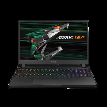 AORUS 15P YD,15.6 FHD 240Hz,TGL i7-11800H , RTX 3080P, GDDR6 8G, 3200MHz 16GB*2, Gen4 1TB(5K),Win 10 Home, 2Y