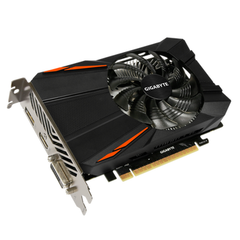 NVIDIA GeForce GTX 1050 Ti, Integrated with 4GB GDDR5 128bit memory, 90mm Fan Design, Support up to 8K display @60Hz
