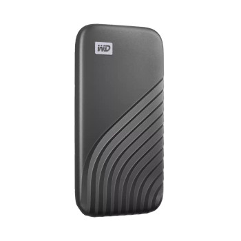 WD My Passport SSD, 1TB, Gray color, USB 3.2 Gen-2, Type C & Type A compatible, 1050MB/s (Read) and 1000MB/s (Write)
