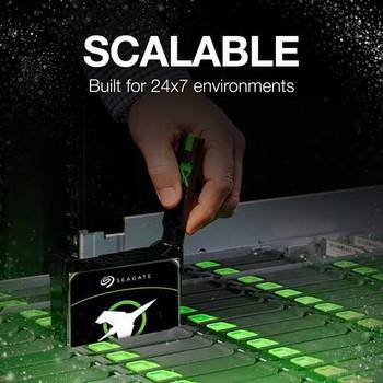 "Seagate Exos X18 Enterprise 512e/4kn Internal 3.5"" Sata Drive, 16tb, 6gb/s, 7200rpm, 5yr W"