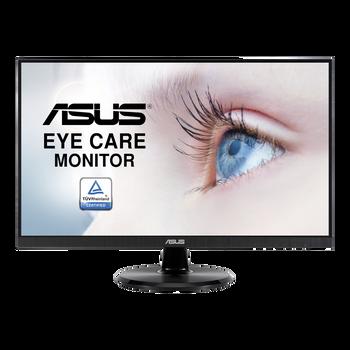"Asus VA24DQ Eye Care 23.8"" FHD Monitor 1920x1080 IPS, 5ms, 75hz, 100mil:1, DP, HDMI, 3yr"