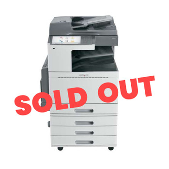 Lexmark X954de 55ppm A3 Colour Multifunction Laser Printer + Base + 4 Trays (Second Hand - Used)