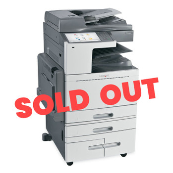 Lexmark X950de 45ppm A3 Colour Multifunction Laser Printer + Base + 4 Trays - 2520-Sheet Tandem Tray Module (Second Hand - Used)