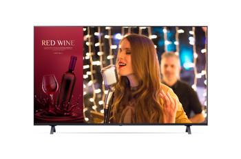 "LG Commercial (UR640S) 50"" UHD TV, 3840x2160, Hdmi(3), Lan, Usb, Spkr, Vesa, 3yr"