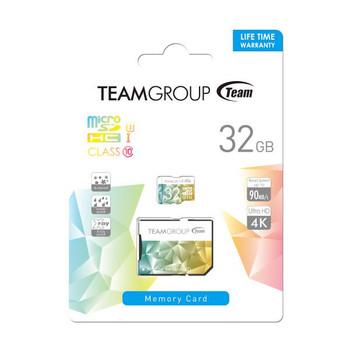 TEAM Color Card II Micro SDHC UHS-1 U3 32G 90/45 R/W