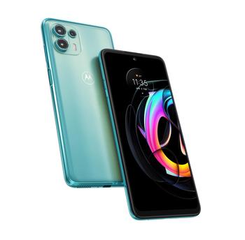 Motorola Edge 20 Fusion Cyber Teal 5G Smartphone