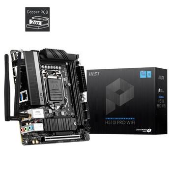 MSI H510i Pro Wi-Fi Intel LA 1200 ITX Motherboard
