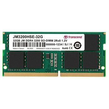Transcend 32GB Jm Ddr4 3200mhz So-dimm 2rx8 2gx8 C