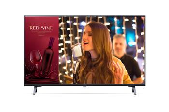 "LG Commercial (UR640S) 43"" UHD TV, 3840x2160, Hdmi(3), Lan, Usb, Spkr, Vesa , 3yr"
