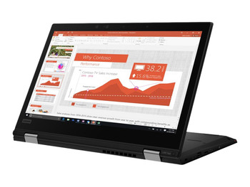 Lenovo ThinkPad L390 Yoga 13.3 inch FHD Touch 2in1 Notebook Laptop Intel i78565U 1.80GHz, 16GB RAM, 256GB NVMe SSD, Intel UHD Graphics, Win10 Pro, 12 Mth Wty (Refurbished)