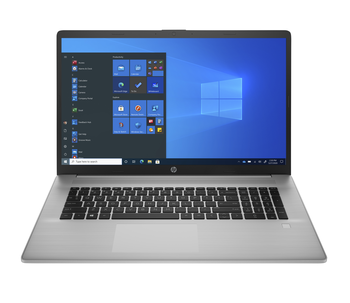 "HP 470 G8 Notebook PC I5-1135, 8GB, 256GB SSD, 17"" FHD Ag, Wl, Bt, W10p, 1yrs"