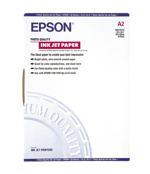 Epson S041079 Photo Paper - 30 Sheets 102G/M A2