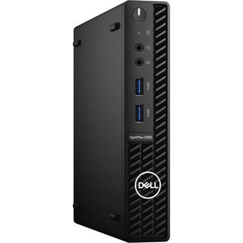 Dell Optiplex 3080 MFF Micro Desktop PC I5-10500t, 16GB, 256GB SSD, Wl, W10p , 1yos