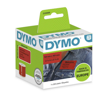 Dymo LabelWriter Standard Shipping Labels 54x101mm - Red