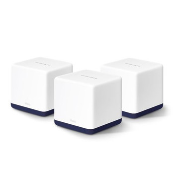 TP-Link Mercusys Halo H50g 3-pack AC1900 Whole Home Mesh Wifi, 2yr