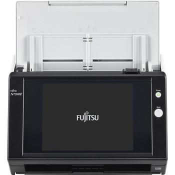 """Fujitsu Network Scanner 25ppm 50 IPM A4 Duplex Network 8.4"""" TSCRN 1YR RTB WTY"""
