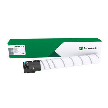 Lexmark 76C00C0 Cyan Toner Cartridge 11.5K for CS923 CX92X
