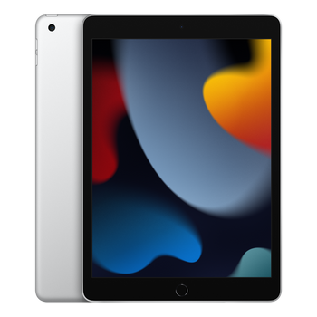 Apple 10.2-inch iPad (9th Generation) Wi-Fi + Cellular 256GB - Silver