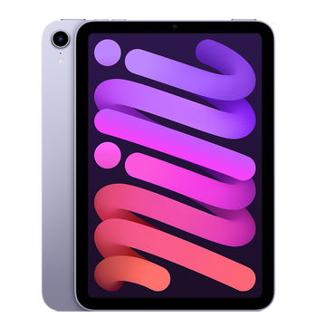 Apple iPad Mini (6th Generation) Wi-Fi + Cellular 64GB - Purple