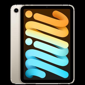 Apple iPad Mini (6th Generation) Wi-Fi + Cellular 256GB - Starlight