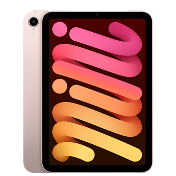 Apple iPad Mini (6th Generation) Wi-Fi + Cellular 256GB - Pink