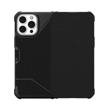 UAG iPhone 13 Pro Max Metropolis Card Folio Case - Kevlar Black