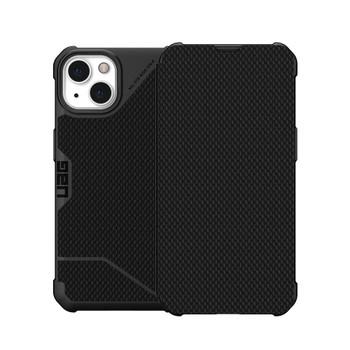 UAG iPhone 13 Metropolis Car Folio Case - Kevlar Black