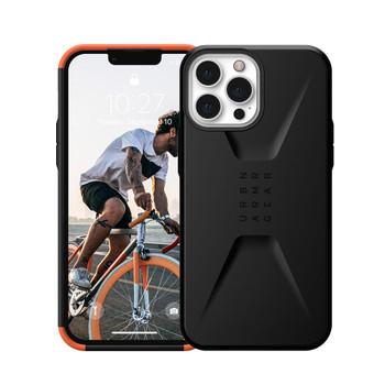 UAG iPhone 13 Pro Civilian Rugged Slim Case - Black