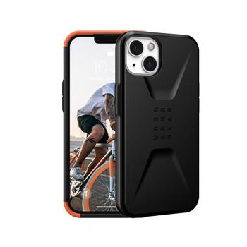 UAG iPhone 13 Civilian Rugged Slim Case - Black
