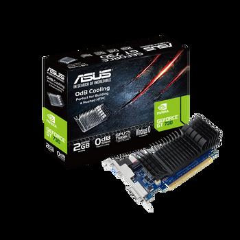 Asus GeForce GT 730 GT730-SL-2GD5-BRK 2GB GDDR5 Graphics Card