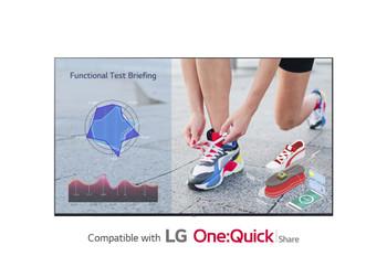 "LG Digital Display (UL3J) 75"" UHD LED, 330nits, USB, HDMI , LAN, Spkr, Webos, 16/7,3yr"