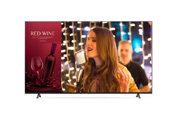 """LG Commercial (UR640S) 86"""" UHD TV, 330nits, Hdmi(3), Lan, Usb, Spkr, 16/7 Usage, Vesa, 3yr"""