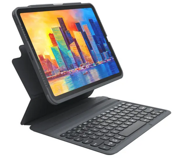 ZAGG-KB-Pro Keys-Apple-iPad 10.9/Air 4-FG-Black/Gray