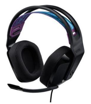 Logitech G335 Wired Gaming Headset - Black