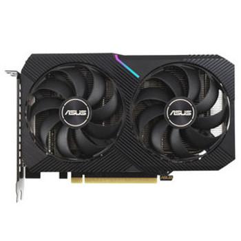 NVIDIA DUAL-RTX3060TI-O8G-MINI-V2, LHR Version, 2 Fans, 3 Display Port, 2 HDMI