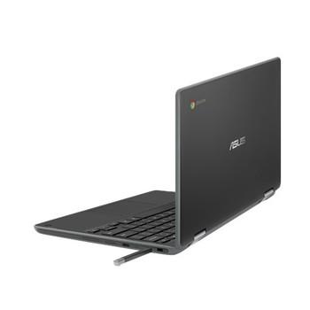 """CHROMEBOOK FLIP, CEL N4020, CHROME OS, 11.6"""" HD Touch w/Stylus, Rugged, 4GB DDR4, 32G eMMC, DUAL CAM HD&5M, ZTE, 1 x USB 3.2, 2 x USB-C, GREY 1YR PUR"""