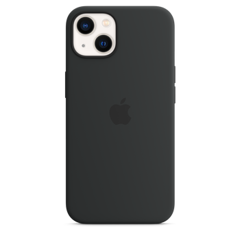 iPhone 13 Silicone Case with MagSafe - Midnight
