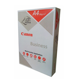 Canon Business A4 80gsm White Copy Paper - 1 Ream (Minimum Purchase of 5 Reams (1 Box) required)
