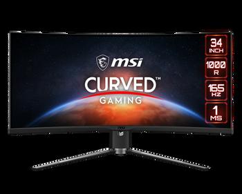 MSI MPG Artymis 343CQR 34 UWQHD Curved Gaming Monitor