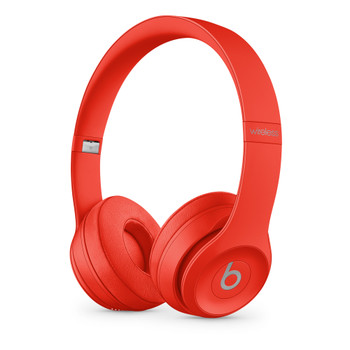 Beats Solo3 Wireless Headphones - (PRODUCT)RED Citrus Red